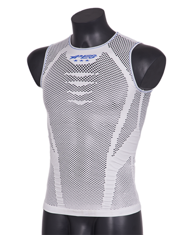 Sleeveless Light Mesh Line Light