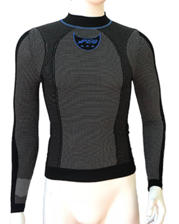 Carbon Turtleneck Long Sleeve Active Line